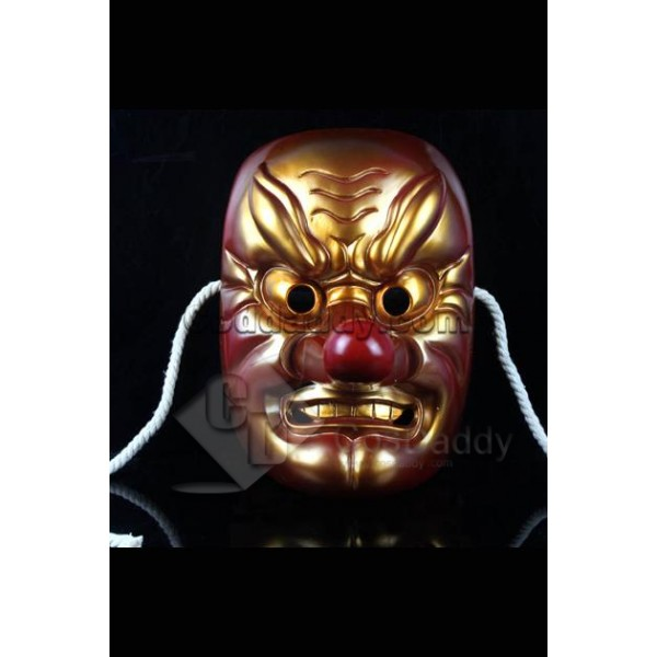 Japanese Celestialdog Super Big Nose Hannya Mask C...