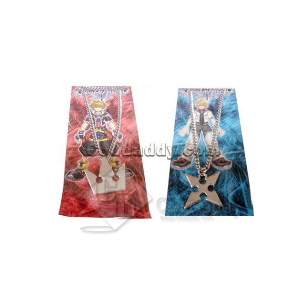 Kingdom Hearts Sora's Crown & Roxas's Cross Ne...