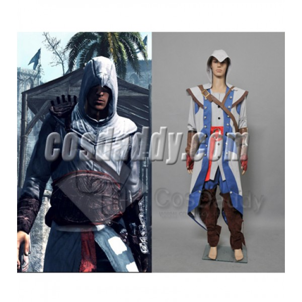Assassin's Creed 3 Connor Kenway Full Outfit Cosplay Costume