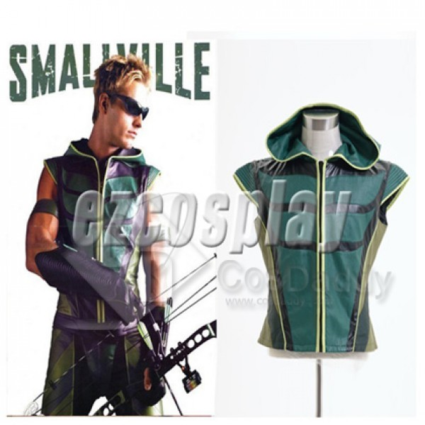 Smallville Justice League Green Arrow Vest Cosplay...