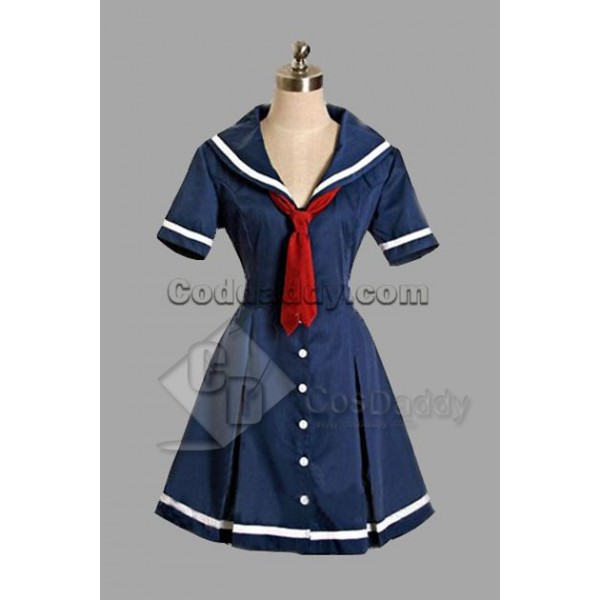 Deep Blue Classic Lolita Dress Cosplay Costume