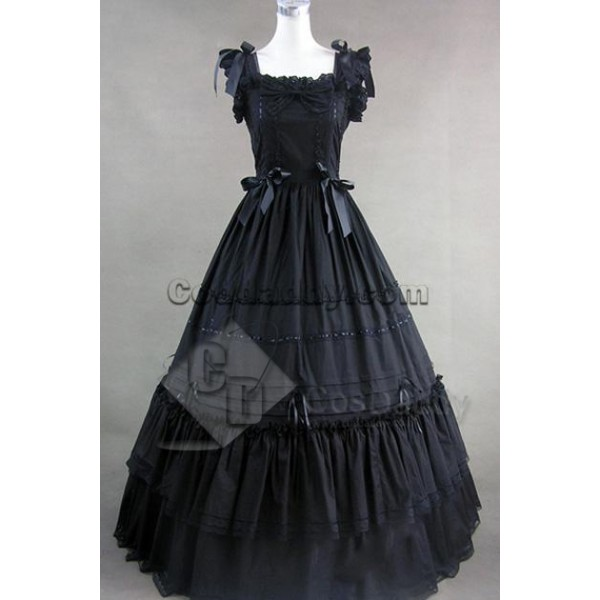 Southern Belle Gothic Lolita Ball Gown Dress Cospl...