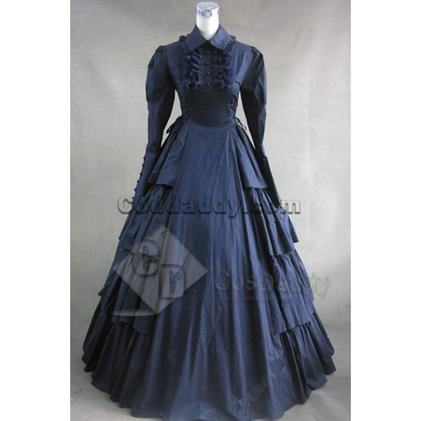 Victorian Gothic Lolita Cosplay Dress Ball Gown Co...