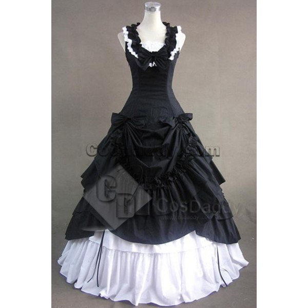 Southern Belle Lolita Ball Gown Wedding Dress Style B Cosplay Costume