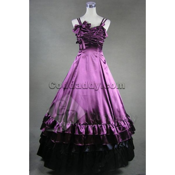 Southern Belle Lolita Ball Gown Wedding Dress Cosp...