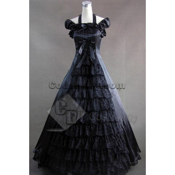 Southern Belle Civil War Lolita Ball Gown Dress Co...