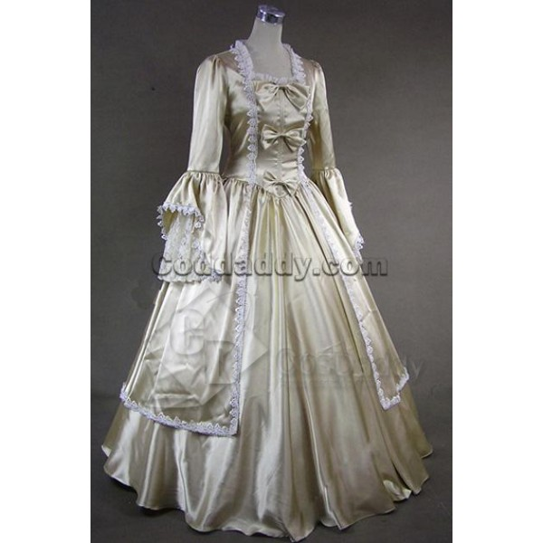 Marie Antoinette Victorian Dress Evening Gown Cosplay Costume