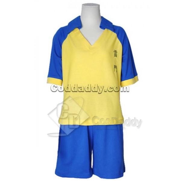 Inazuma Eleven Soccer Team Uniform Cosplay Costume...