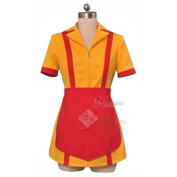 2 Broke Girls Max Caroline Waiter Uniform Dress Co...