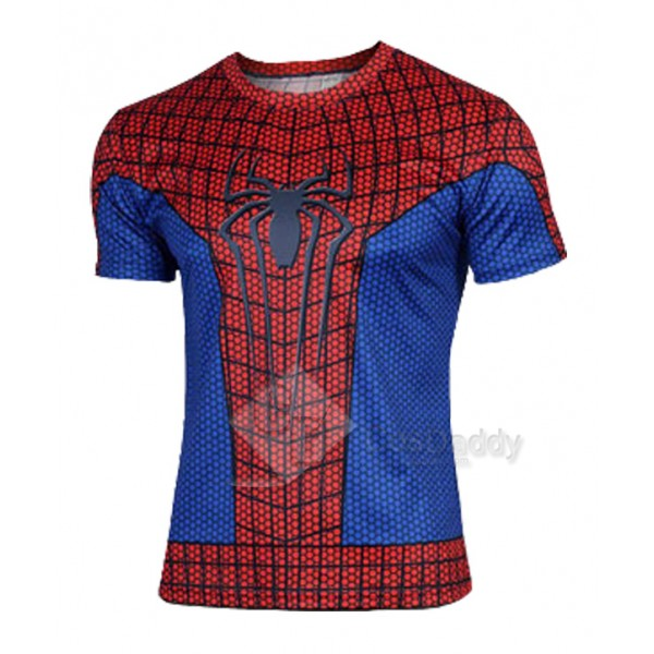 2015 Superhero T shirt Mens's Tee Spiderman