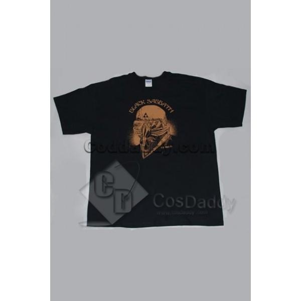 The Avengers Black Sabbath Iron Man Tony Stark T-Shirt Tee Costume