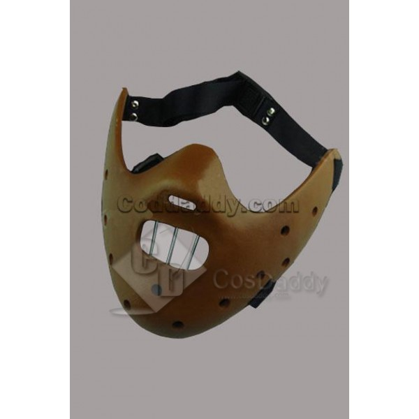 Silence of the Lambs Hannibal Cosplay Mask Brown Ver