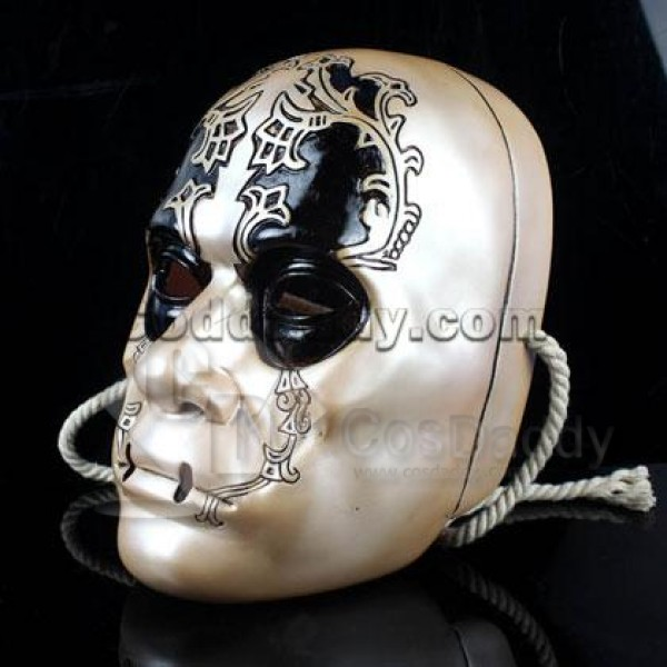 Replica Harry Potter Death Eater Resin Mask Copper Prop