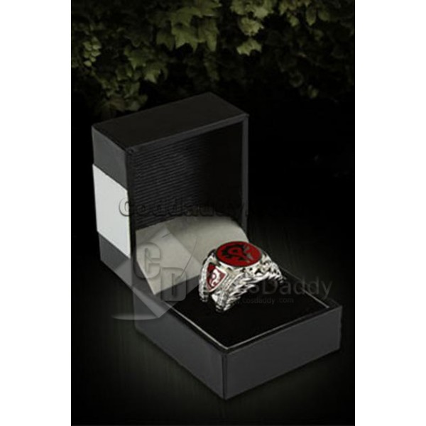 World of Warcraft WOW Horde Ring Platinum-plated
