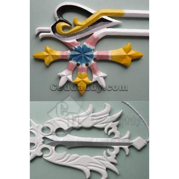 Kingdom Hearts Oathkeeper Cosplay Keyblade