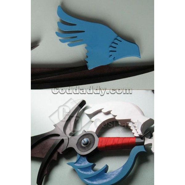 Kingdom Hearts Riku's The way to Dawn Cosplay Keyblade