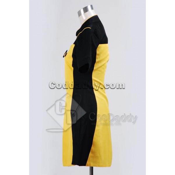 Star Trek TNG The Next Generation Yellow Skant Uniform Cosplay Costume