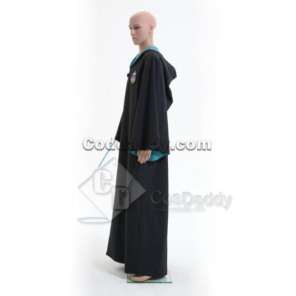 Harry Potter Slytherin of Hogwarts Robe Cosplay Costume
