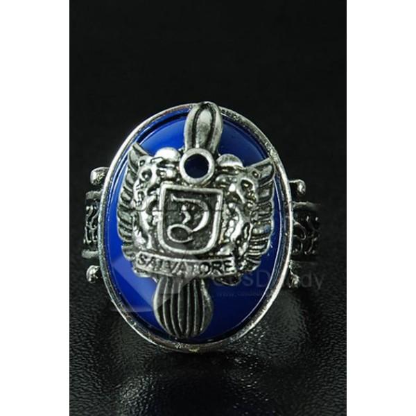 The Vampire Diaries Damon Salvatore Crest Ring