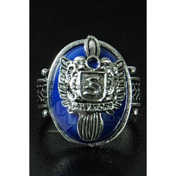 The Vampire Diaries Stefan Salvatore Crest Ring Silver-Plated Alloy