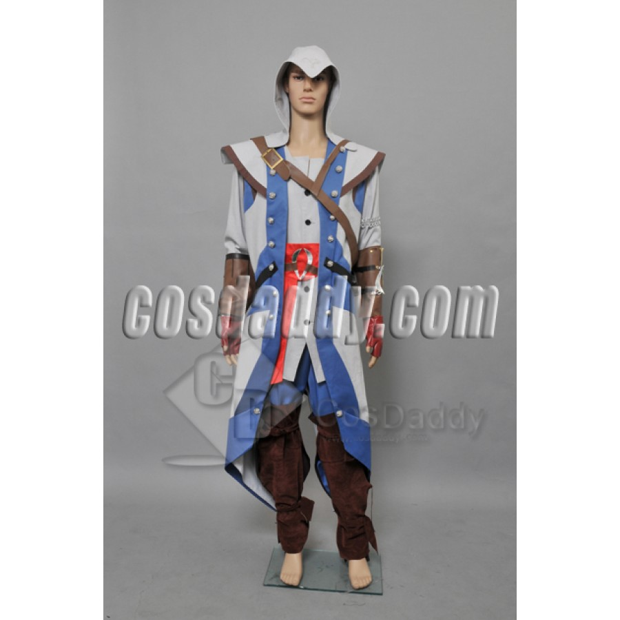 Assassin S Creed 3 Connor Kenway Cosplay Full Outfit Costume