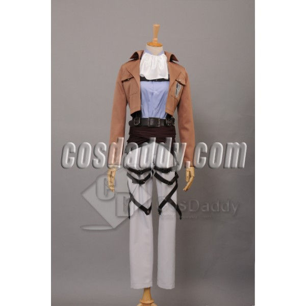 Attack on Titan Scouting Legion Eren Levil Cosplay...