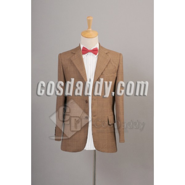 Doctor Who 11th Eleventh Doctor  Jacket Suit Cosplay Costume
