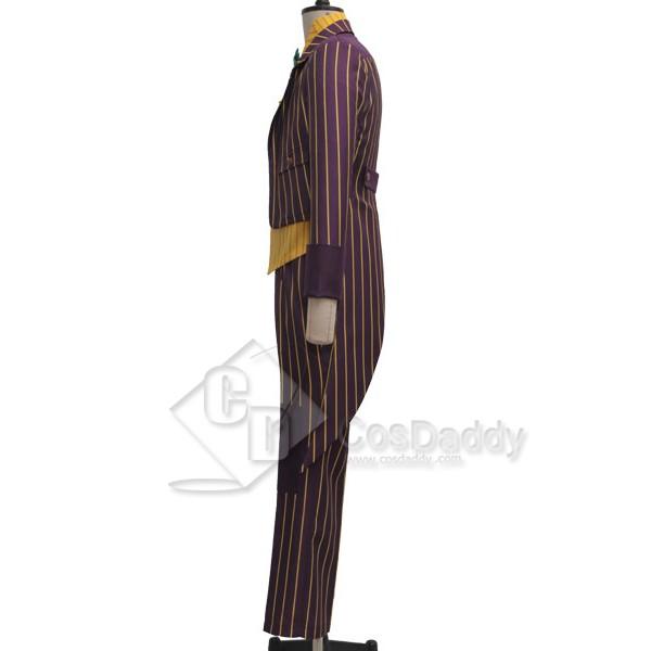 Batman Arkham Asylum Joker Suit Cosplay Costume