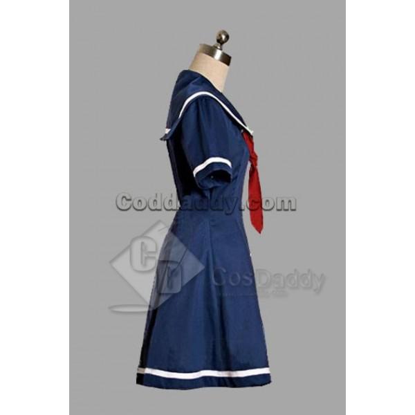 Deep Blue Classic Lolita Dress Cosplay Costume