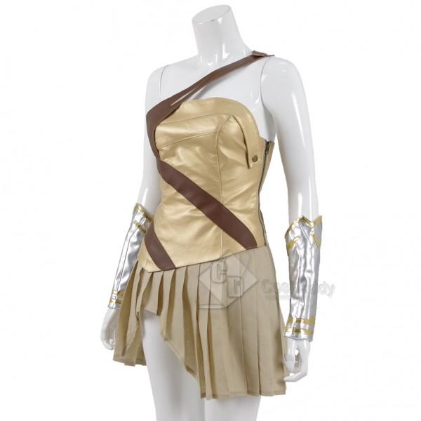 CosDaddy Wonder Woman Queen Hippolyta Battle Cosplay Costume