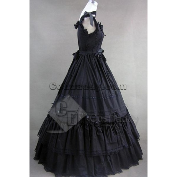 Southern Belle Gothic Lolita Ball Gown Dress Cosplay Costume
