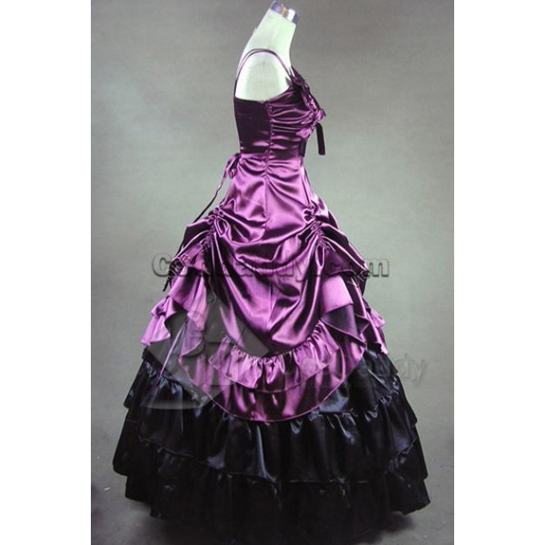 Southern Belle Lolita Ball Gown Wedding Dress Cosplay Costume