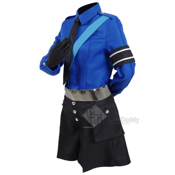 Persona 5 Sthe Animation -THE DAY BREAKERS Cosplay  Justine (O.Y.O.O) Costume