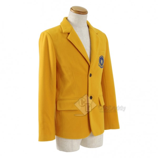 Spider-Man: Homecoming Peter Parker Yellow Jacket School Uniform