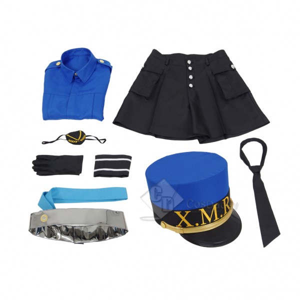 Persona 5 Sthe Animation -THE DAY BREAKERS Cosplay  Caroline (X.M.R.N) Costume