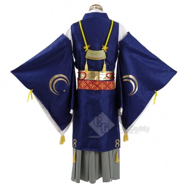 CosDaddy Touken Ranbu Hanamaru The Sword Dance Cosplay Mikazuki Munechika  Costume