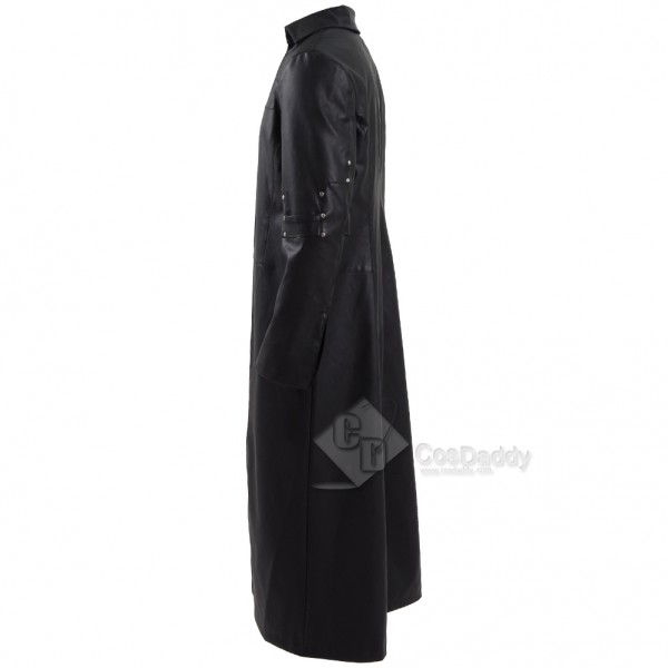 Cosdaddy The Dark Tower  Roland Deschain Black Long Trench Coat Cosplay Costume