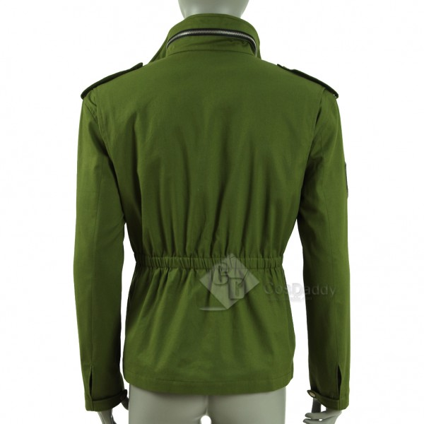 CosDaddy 2016 New Mafia III Lincoln Clay Green Coat Cosplay Costume  For Man Adult (Only Jacket)