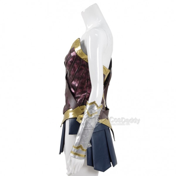 CosDaddy Wonder Woman Diana Prince Battle Breastplate Cosplay Costume