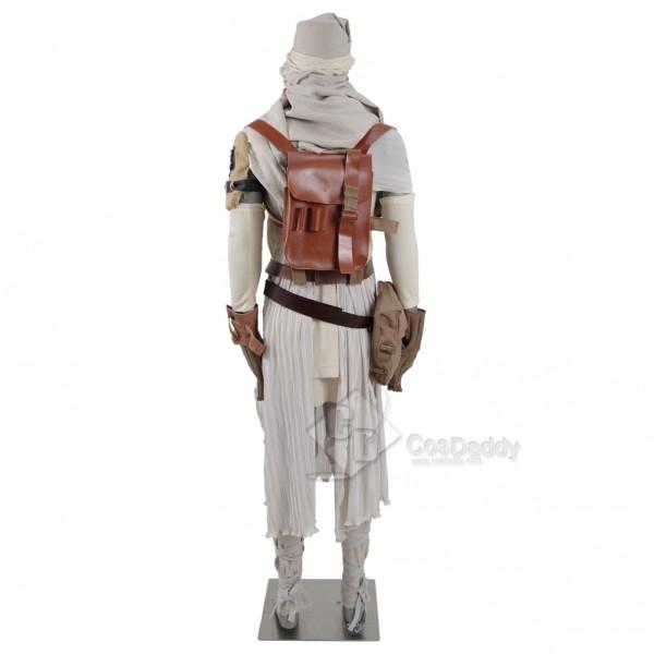 CosDaddy Star Wars Rey Cosplay Costume Women Full Set