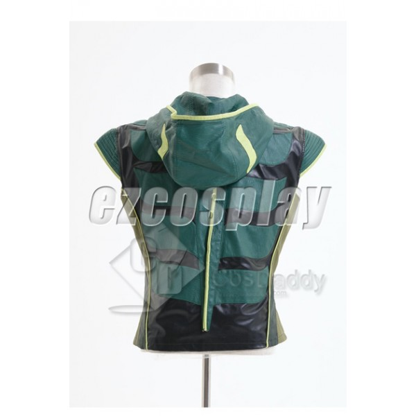Smallville Justice League Green Arrow Vest Cosplay Costume