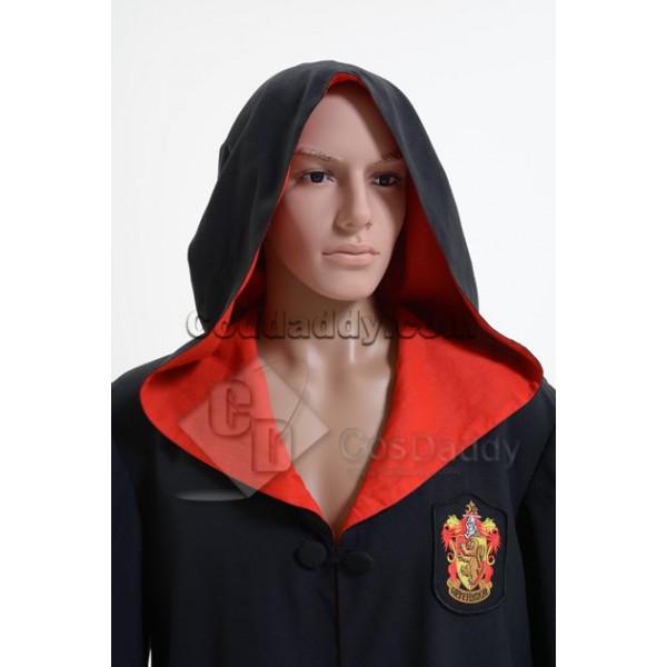 Harry Potter Gryffindor of Hogwarts Robe Cosplay Costume