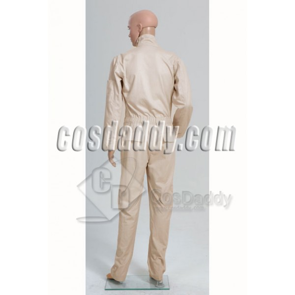 Lost Dharma Initiative Jumpsuit Uniform Cosplay Costume