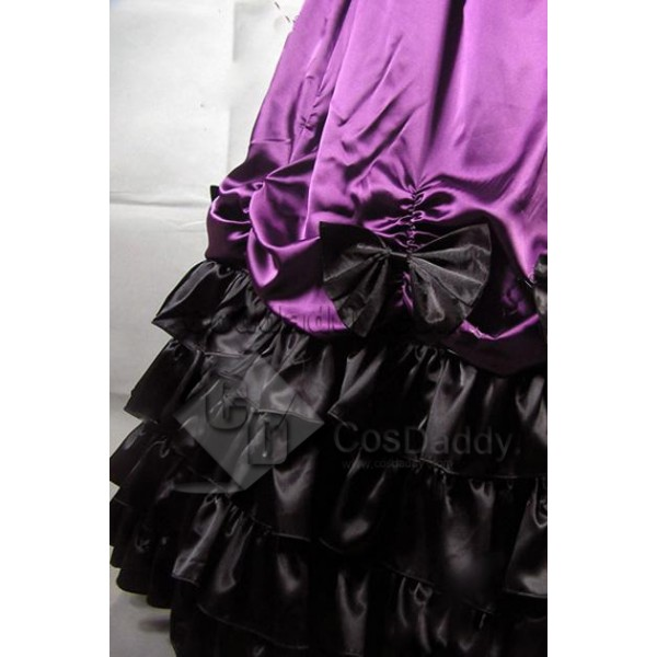 Civil War Southern Belle Ball Gown Dress Prom Cosplay Costume