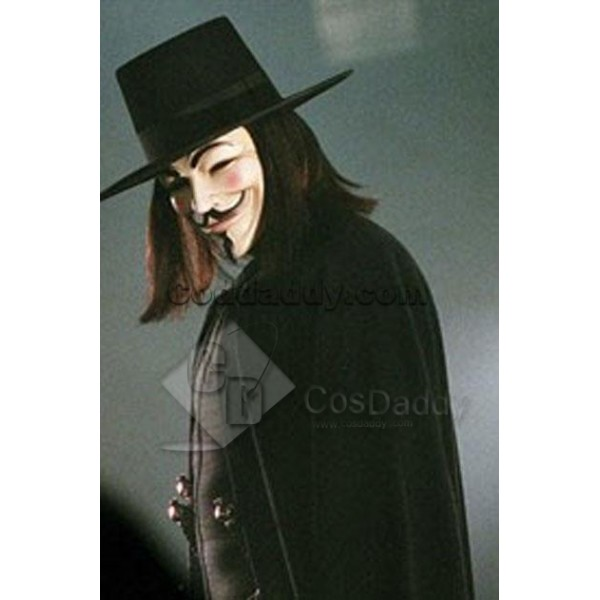 Normal Edition of V for Vendetta Mask Cosplay Prop