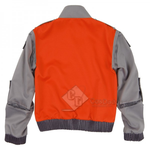 CosDaddy Back to the Future Cosplay Marty McFly Jacket