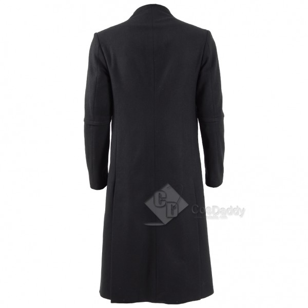 Cosdaddy The Dark Tower  Walter Padick Black Long Trench Coat Cosplay Costume