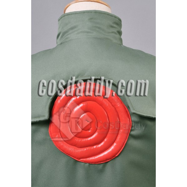 Naruto Hatake Kakashi Jonin Vest Halloween Cosplay Costume