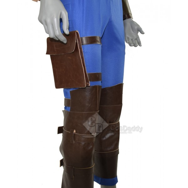 Cosdaddy Fallout 4 FO Nate Vault #111 Outfit Jumpsuit Uniform Cosplay Costume