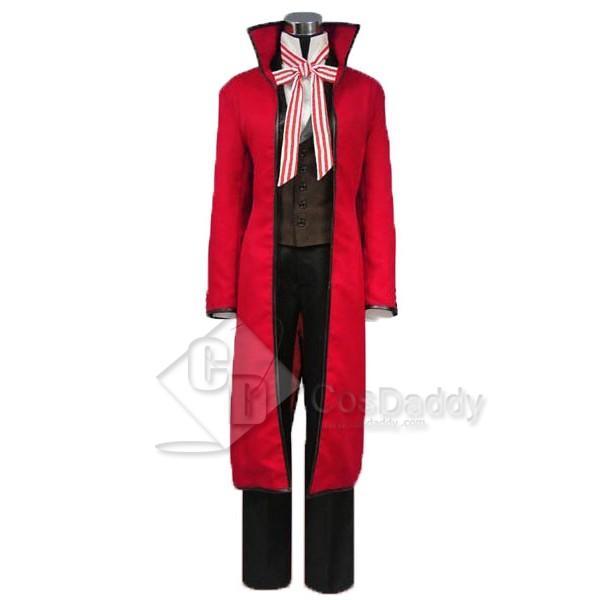 Black Bulter Grell Sutcliff Cosplay Costume